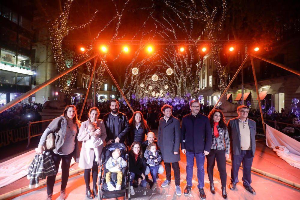 Encendido de luces de Navidad de Palma
