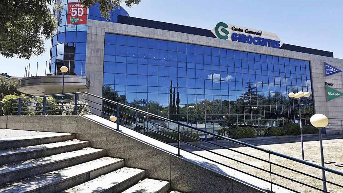 El Centre Comercial Hipercor de Girona, on es va cometre el furt, en una imatge d'arxiu.
