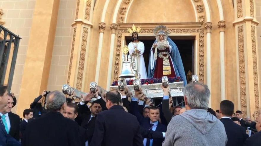 Misa del Alba y traslado del Cautivo y la Virgen de la Trinidad el Sábado de Pasión