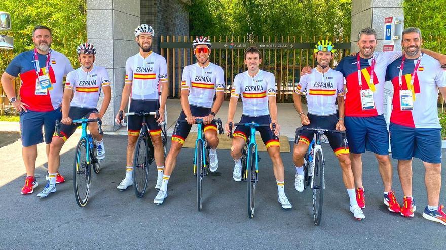 Los ciclistas españoles dan negativo en los test PCR y podrán competir en los Juegos de Tokio