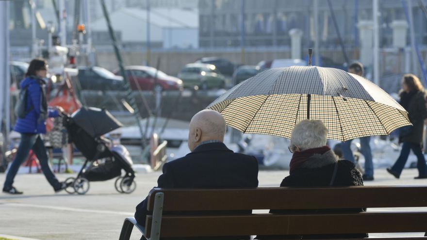La primavera dejó en Galicia un 21% menos de lluvias de lo habitual