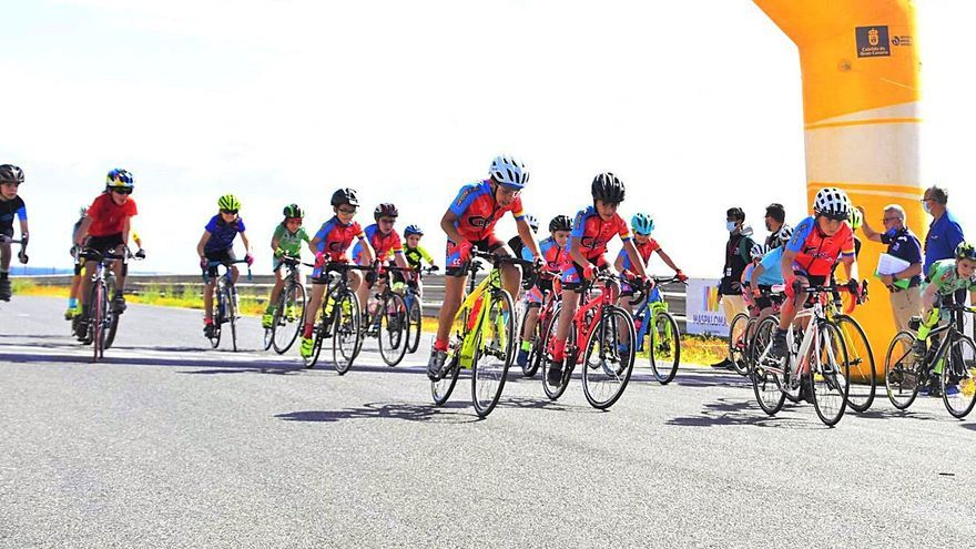 La Copa Cabildo de Gran Canaria congrega a 125 jóvenes ciclistas