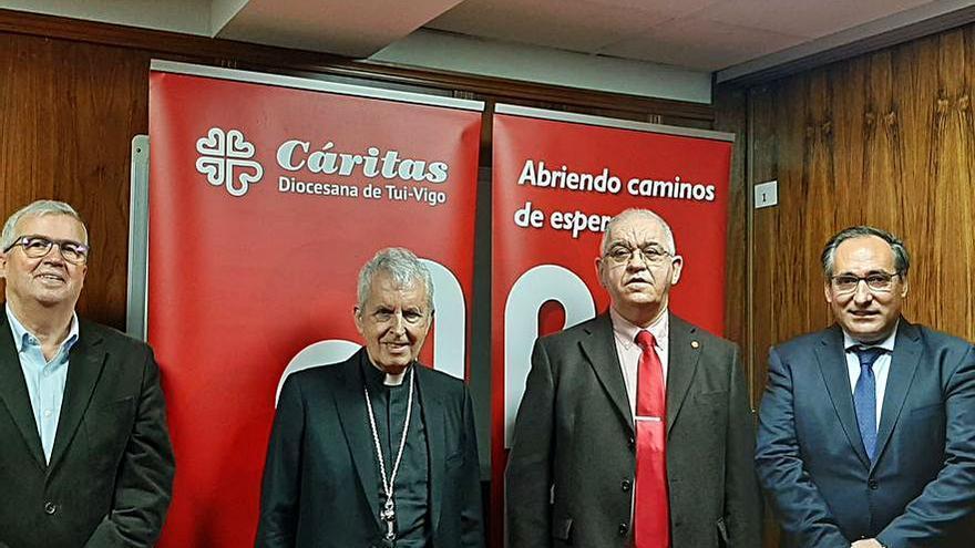 Cáritas estrena una nueva agencia de colocación laboral en el Casco Vello