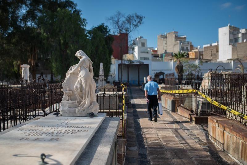 Rehabilitación del cementerio de San Rafael y San Roque