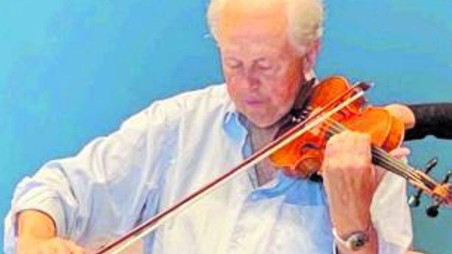 Un gran violinista...