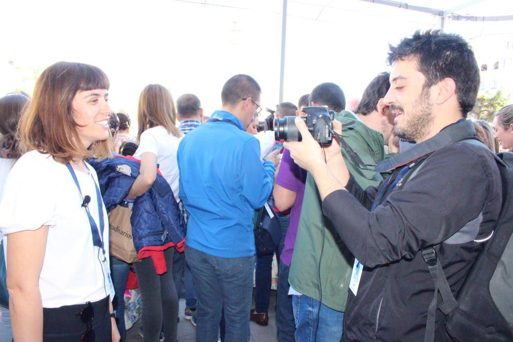 Los candidatos del grupo municipal de València en Comú se marcan un directo