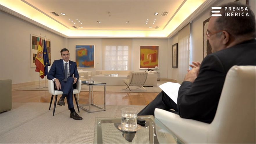 Entrevista con Pedro Sánchez -- Coronavirus