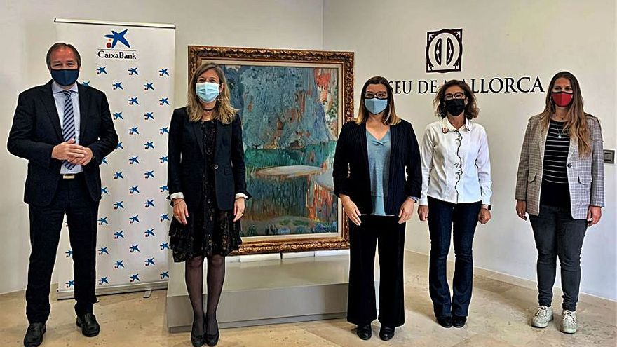 Medio centenar de obras amplían el fondo del Museu de Mallorca