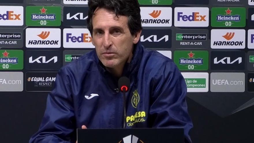 Emery: «El Mallorca es un equipo con poso que nos exigirá»