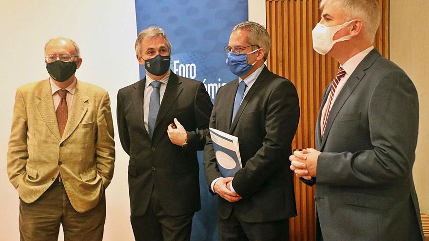 El Foro Económico aleja el peor pronóstico y estima una caída del 9% del PIB de Galicia