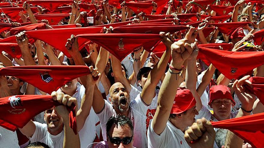 Las próximas fiestas de San Fermín «no van a ser posibles»