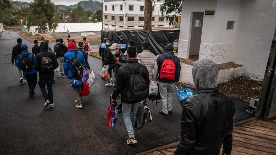 CC pide a Interior una visita al campamento de migrantes de Las Raíces