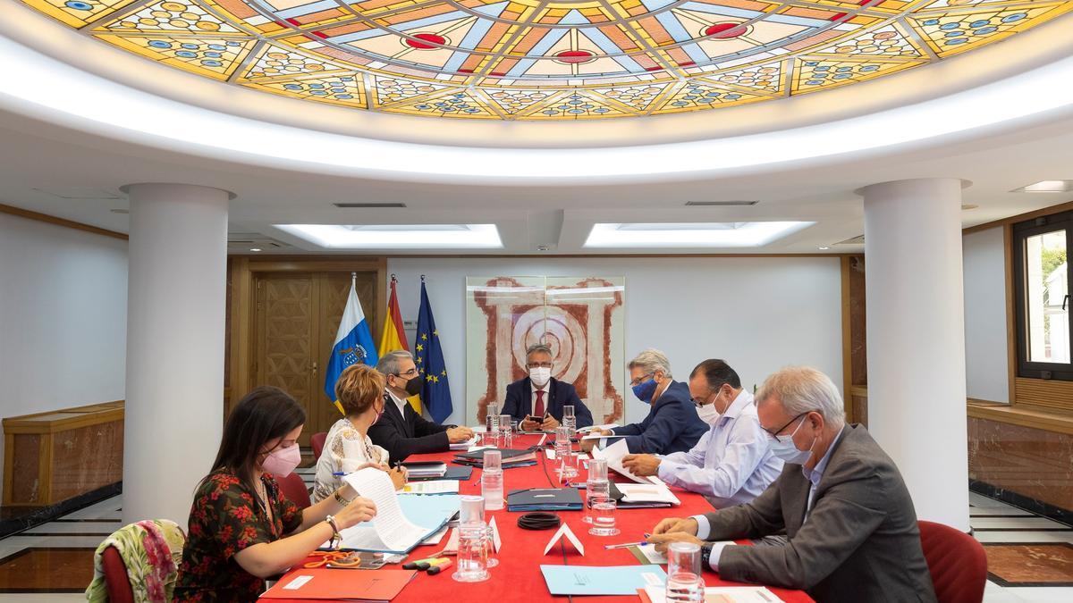 Reunión del Consejo de Gobierno de este jueves 5 de agosto
