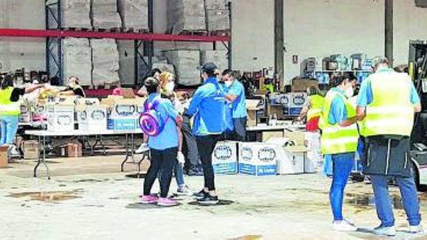 Voluntarios de CaixaBank participan en iniciativas solidarias