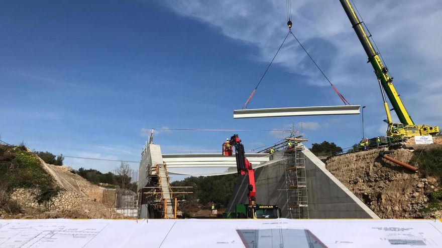 Arbeiten für neue Brücke nach Artà laufen auf Hochtouren