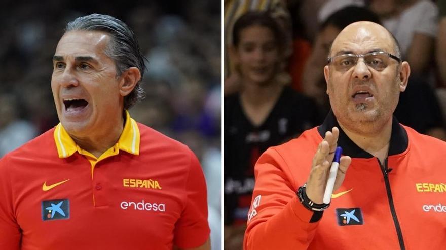 Scariolo y Mondelo seguirán al frente de las selecciones hasta los Juegos de París