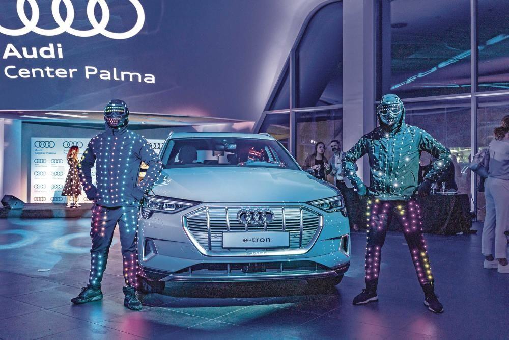 Presentación en Palma del nuevo Audi e-tron.