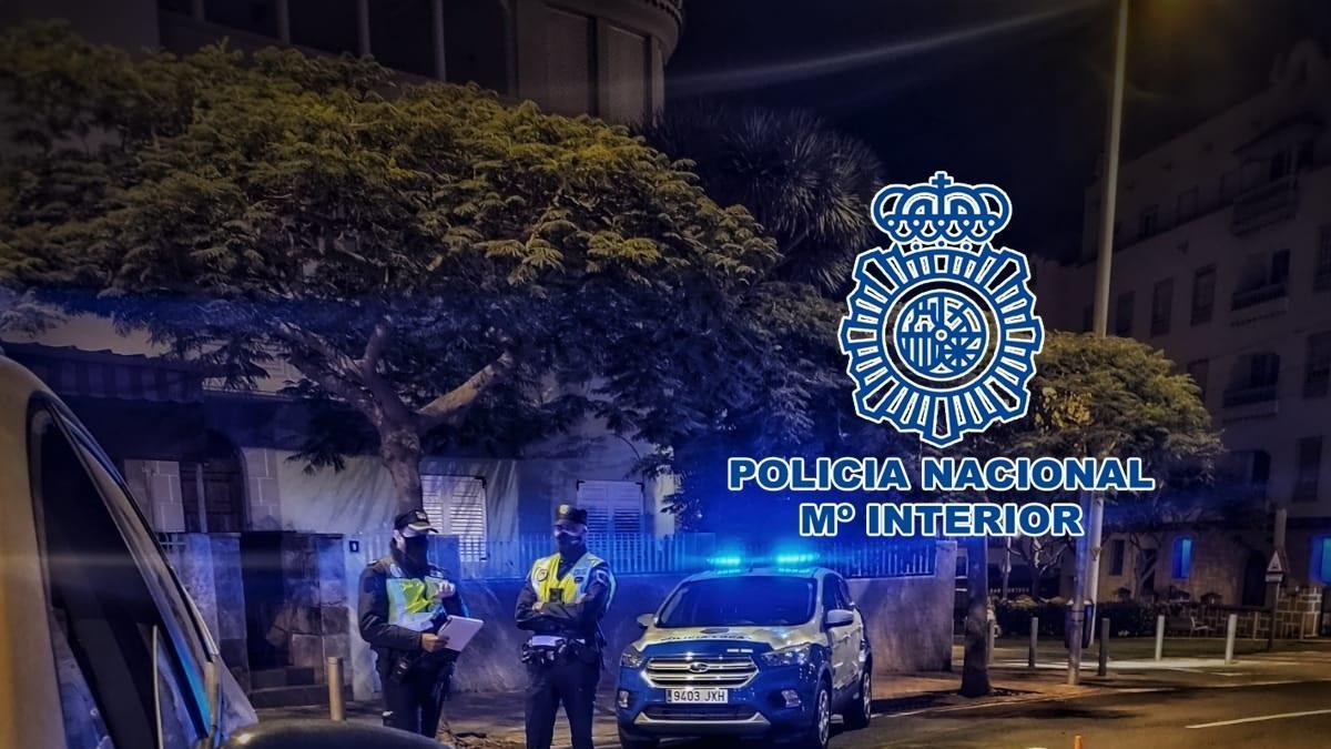 La Policía Nacional impone 408 sanciones en Tenerife, principalmente en Santa Cruz, Arona y Adeje