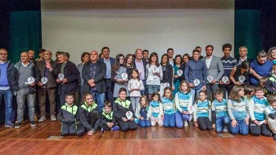 Betanzos rinde homenaje a sus deportistas