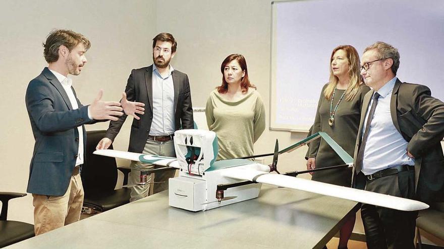 Schweizer Drohnen sollen Blutproben auf Mallorca transportieren