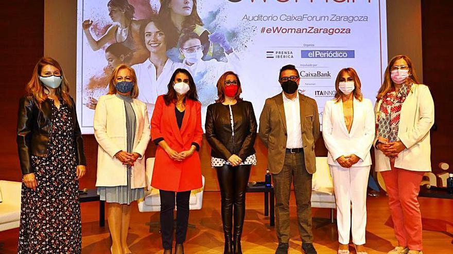 'eWoman Zaragoza', altavoz del éxito profesional de la mujer