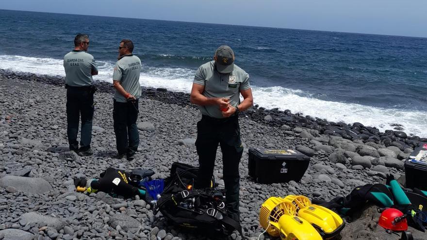 Recuperado a 18 metros de profundidad en el mar el cuerpo de un submarinista sin vida en Fuerteventura