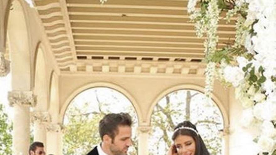 Fàbregas se casa con Daniella Semaan en un hotel de lujo de Inglaterra