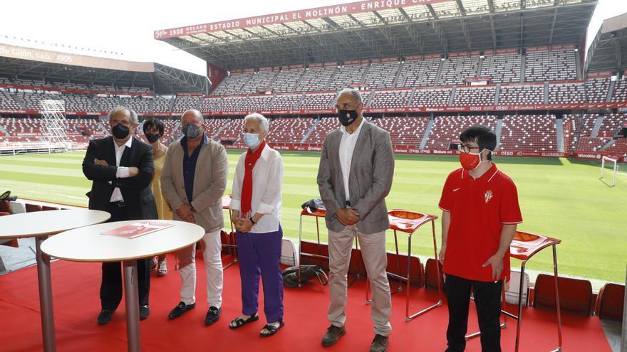 El Sporting impulsará escuelas de fútbol en seis colegios de educación especial