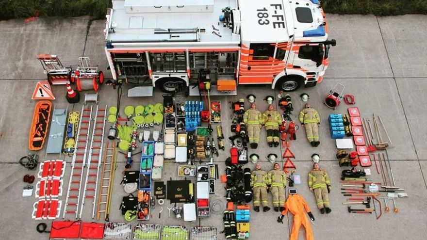 Cuerpos de seguridad se suman al 'tetris challenge'
