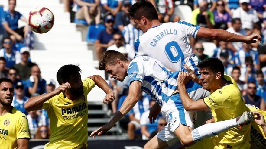 El Villarreal emerge y deja 'tocado' al Leganés