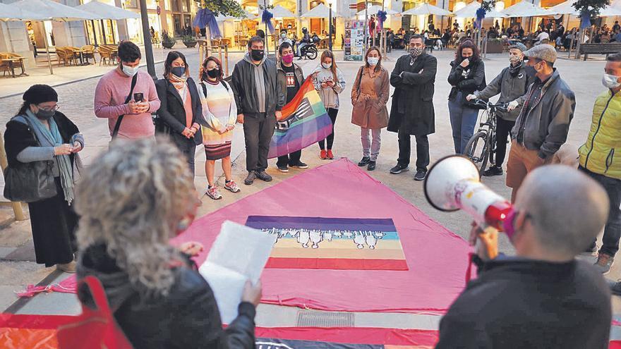 Girona Dia Internacional Contra l'Homofòbia, la Transfòbia i la Bifòbia