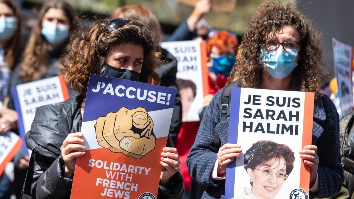 Las protestas contra la sentencia han llegado a otros países, como refleja esta imagen de Londres.