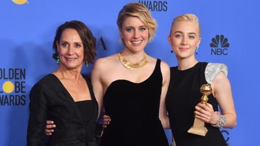'Tres anuncios en las afueras' brilla en los Globos de Oro de las mujeres