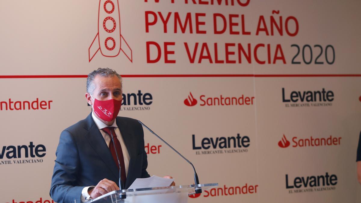 Antonio Valldecabres, director territorial de Banco Santander en Comunitat Valenciana y Murcia.