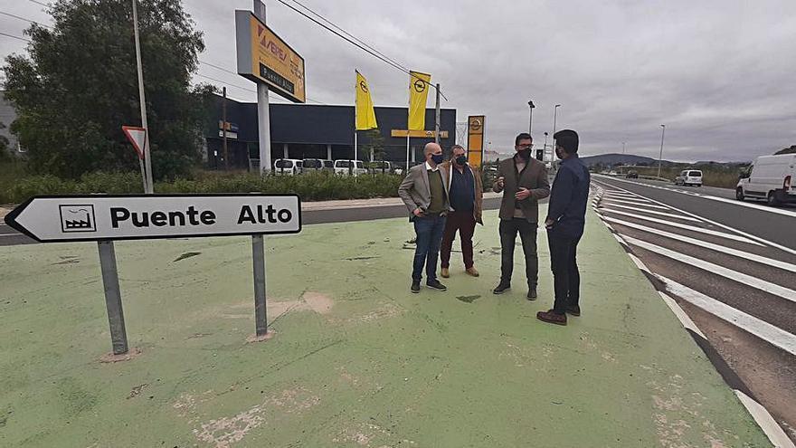 Orihuela quitará un punto negro del polígono y reurbanizará calles
