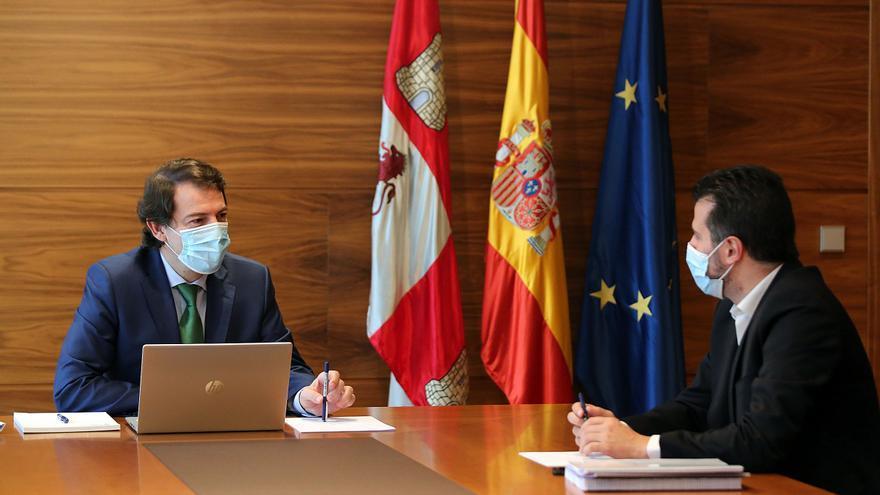 Mañueco convoca a todos los grupos para consensuar una posición común ante los fondos europeos