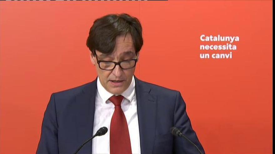 """Salvador Illa: """"Soy un servidor público, estoy preparado para presidir Cataluña"""""""