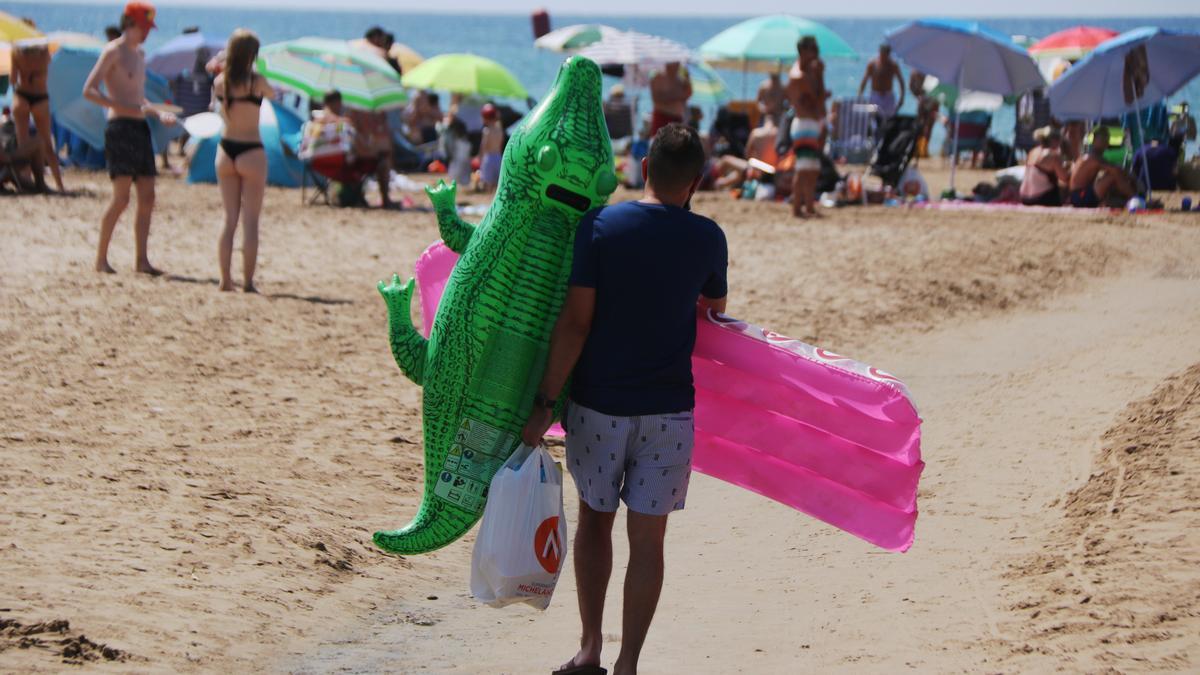 Les previsions del sector turístic de cares al mes d'agost són més favorables.
