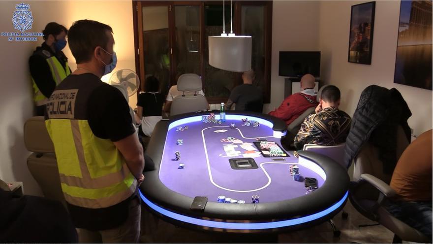 La Policía desmantela en Palma una timba clandestina con premios de hasta 120.000 euros