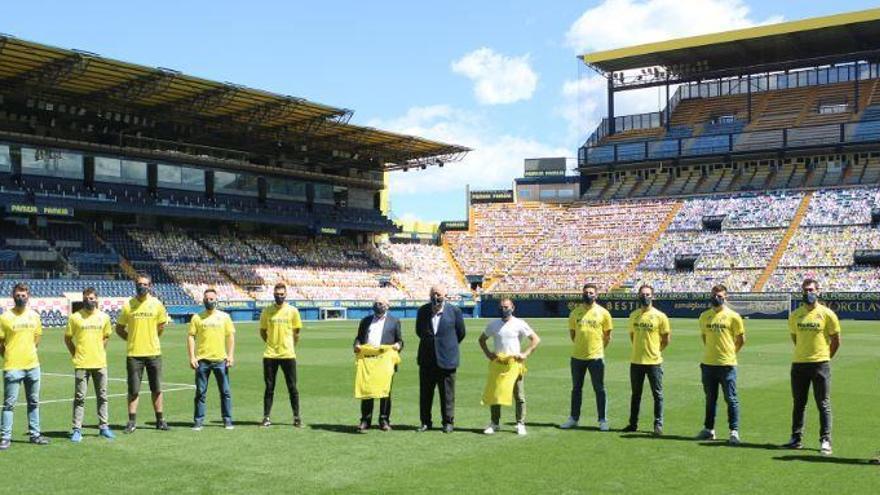 Un lustre del Villarreal CF al costat del món professional