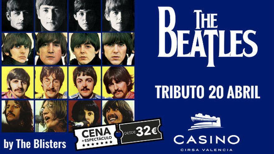 Casino Cirsa Valencia rinde homenaje a The Beatles