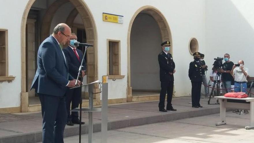 El delegado del Gobierno en Canarias, Anselmo Pestana, visita Fuerteventura