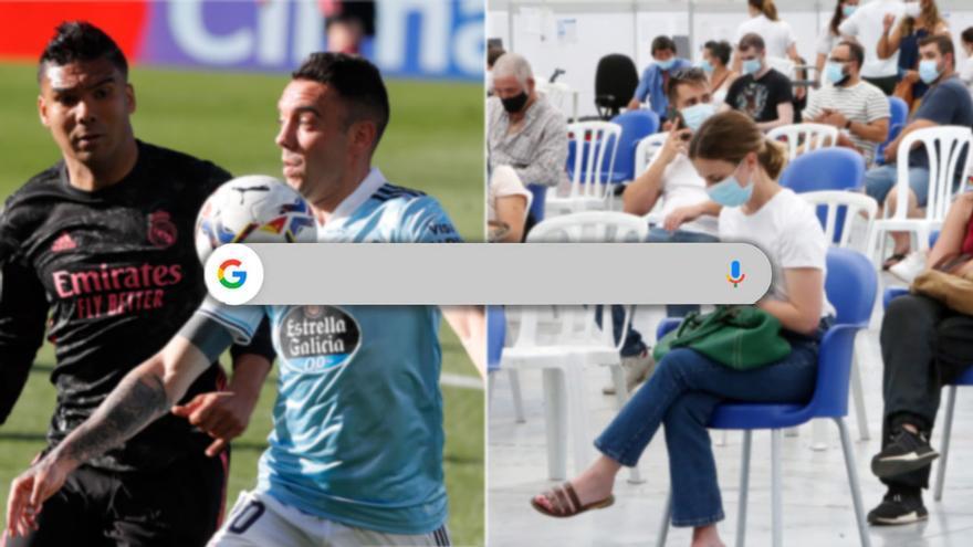 """El Real Madrid y la vacunación, los """"motores"""" de Vigo en Google"""