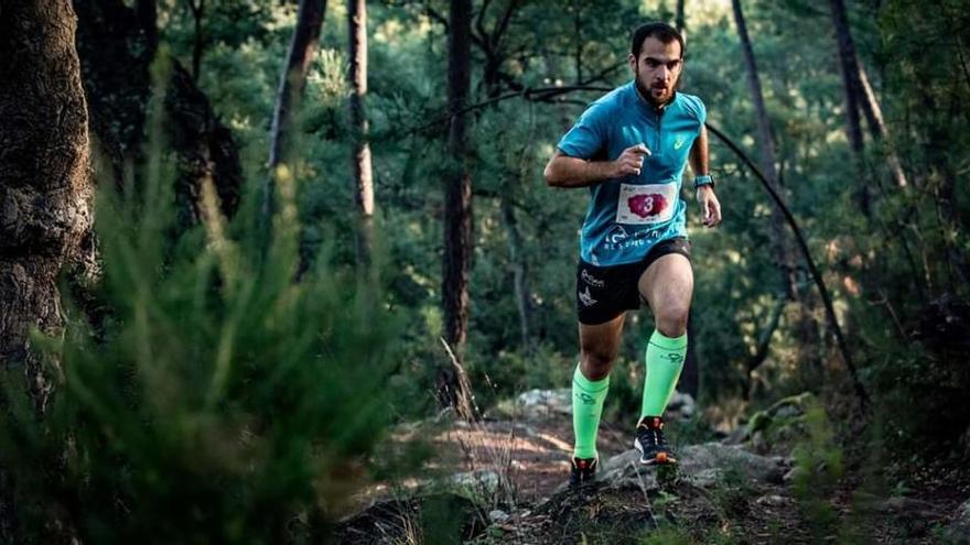 """El corredor del Llebeig de Xàbia Alván Salvá, plata en el circuito """"Cronos a Foc"""""""