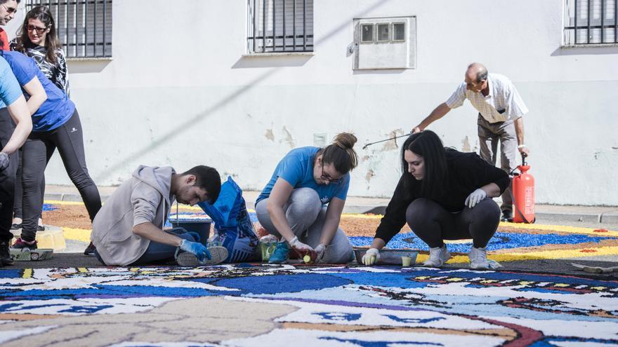 San Vicente de Alcántara forma parte del mayor proyecto alfombrista del mundo