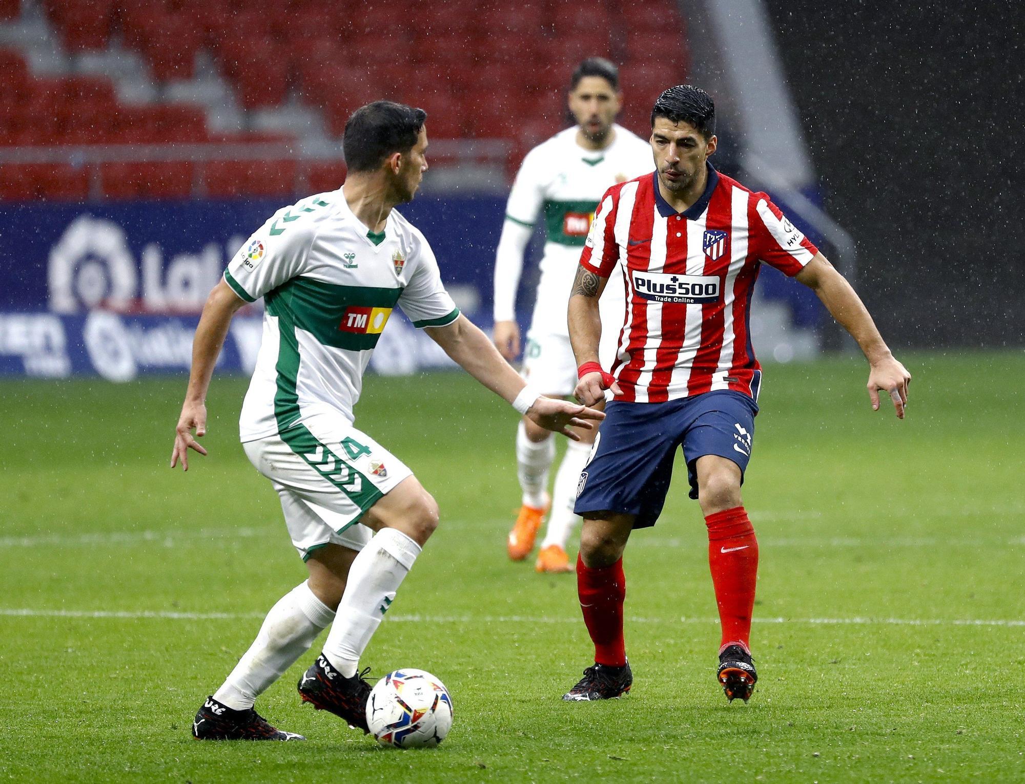 Atlético - Elche: Las imágenes del partido