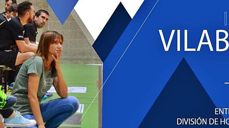 Irene Vilaboa será la primera entrenadora en Plata masculina