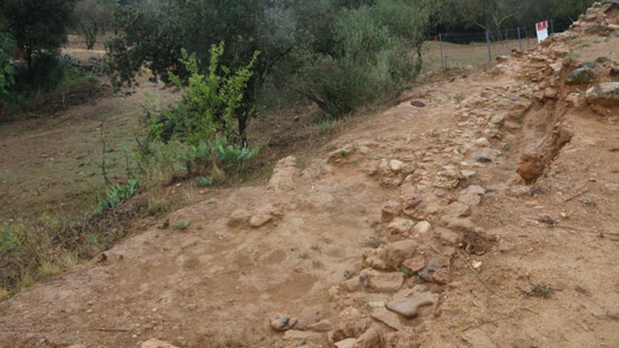 El jaciment del Mas Castellar de Pontós i del laboratori d'investigacions amb restes localitzades a la zona