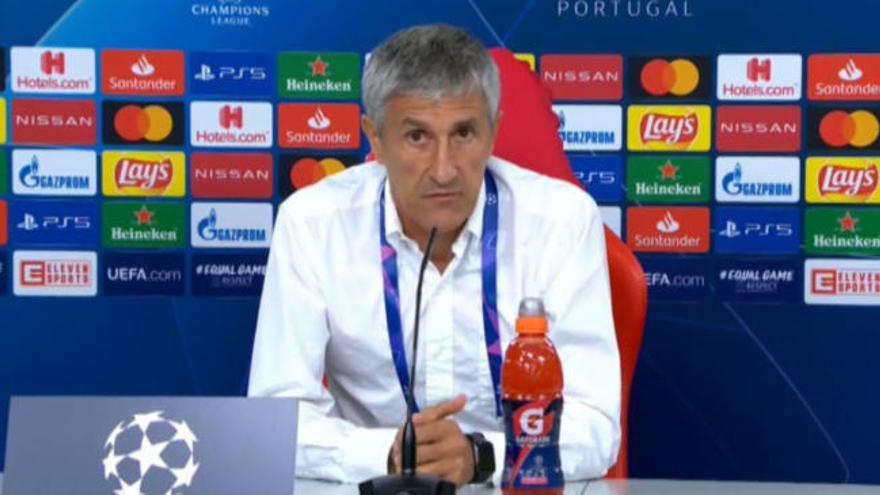 """Setién: """"Si Piqué pide cambios, algo de razón tendrá"""""""