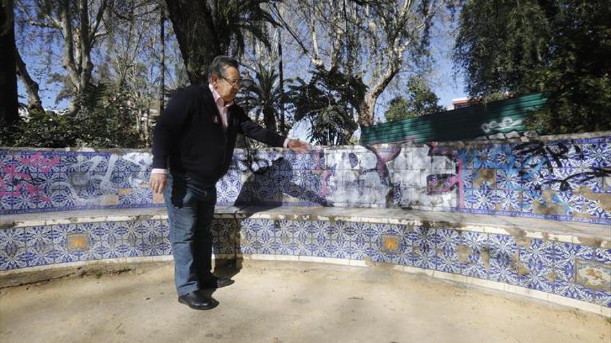 Ricardo Rojas quiere recuperar los jardines de los patos